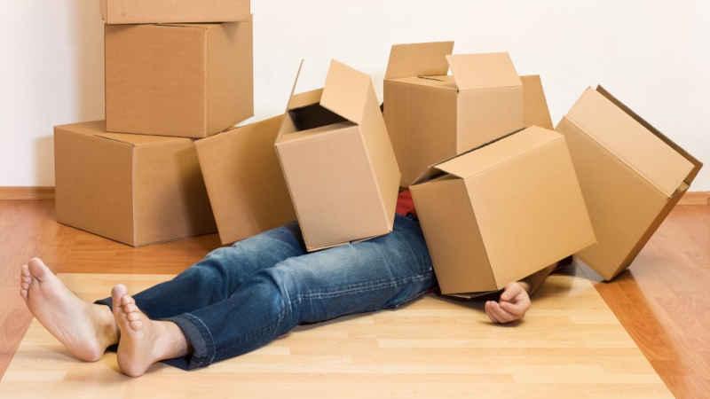 Permesso di lavoro per traslocare