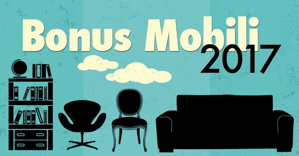 Bonus per mobili ed elettrodomestici