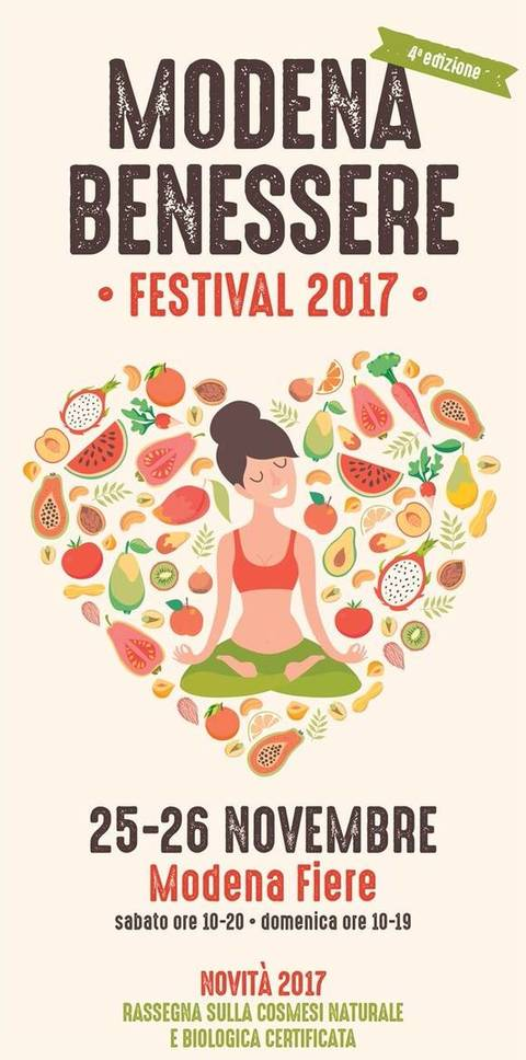 """Fiera """"Modena Benessere Festival"""""""