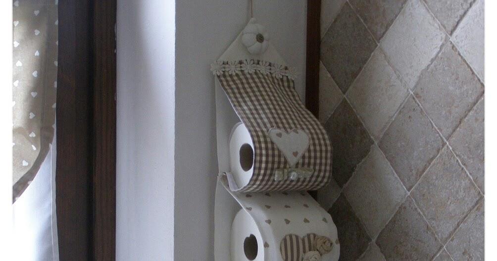 Porta rotolo di carta igienica