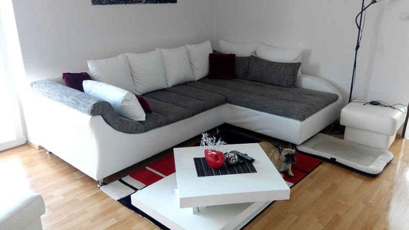 Il divano letto angolare